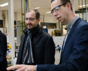 Dutch Minister Eric Wiebes (Economic Affairs & Climate Policy) visits Elestor